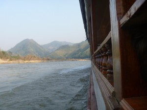 Floating the Mekong River