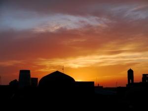 Sunset in Khiva