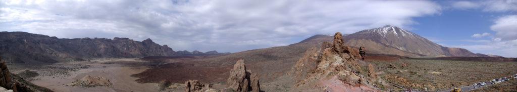 Panorama_Teide_BW