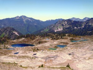 Hiking the Seven Lakes Basin