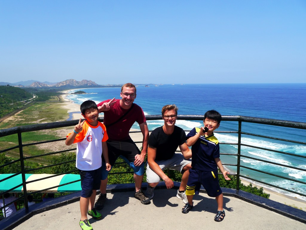 After hitch-hiking to the Goseong DMZ, we spent the afternoon with an awesome Korean family!