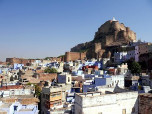 The Fort over the Blue City of Jodhpur