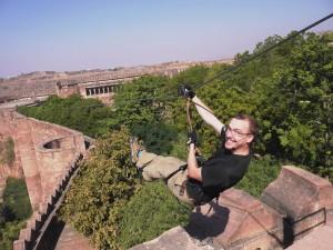 Flying Fox Zipline in Jodhpur