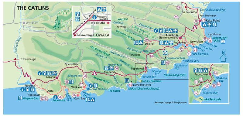 Catlins Map