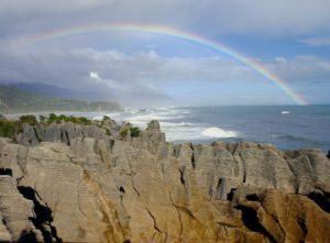 The Pancake Rocks of Punakaiki