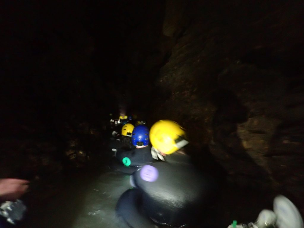 Cave Rafting