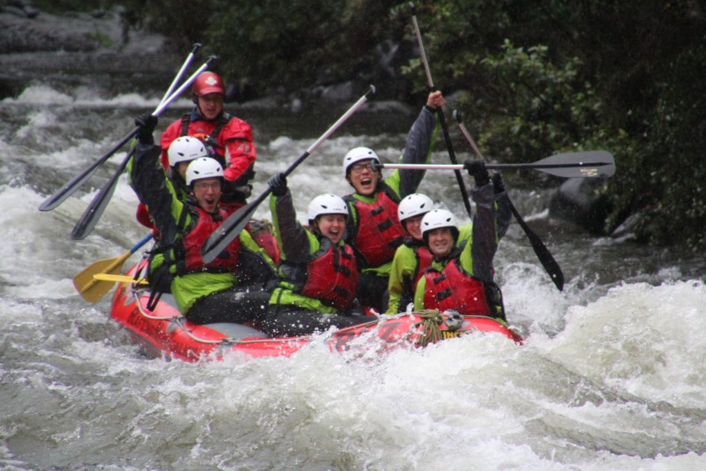 Rafting the Tongariro