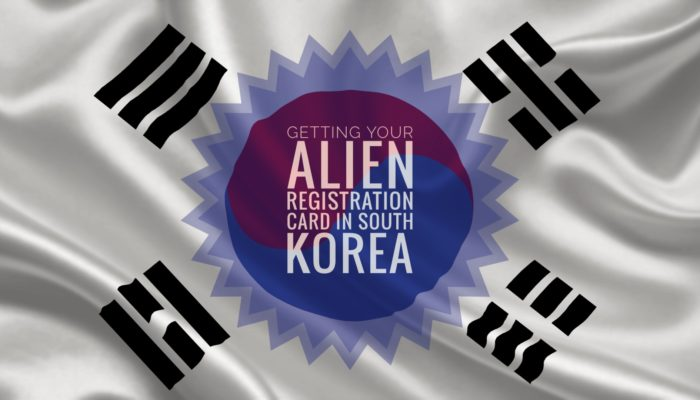 Getting Your Alien Registration Card in South Korea