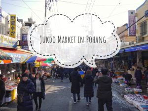 Jukdo Market in Pohang