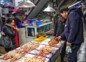 Crab Shopping
